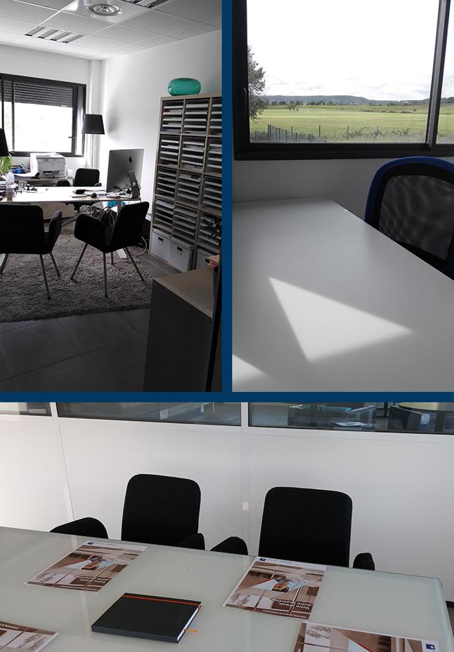 salle de réunion, bureaux indépendants, bureau