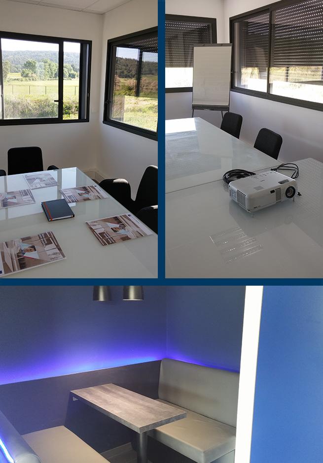 salle de réunion, paperboard, coworking