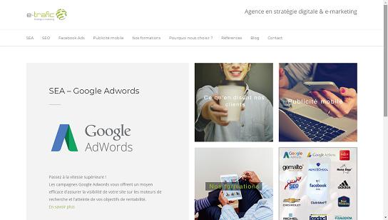 Homepage-e-trafic